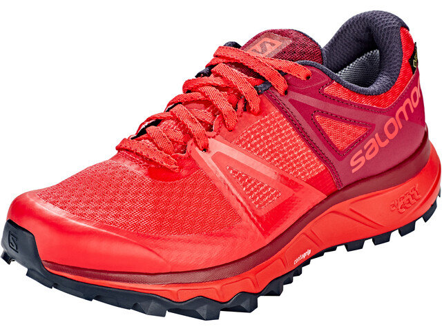 0eaed748e6aba Salomon Trailster GTX Running Shoes Women red at Addnature.co.uk